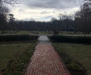 cemetery, photography, and spooky image