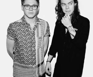 black and white, Harry Styles, and boys image
