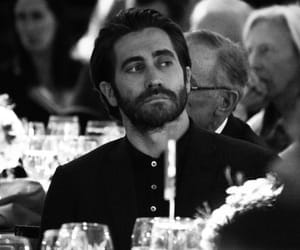 black and white, actor, and jake gyllenhaal image