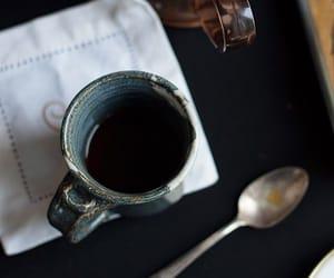 cafe, coffee, and الصباح image