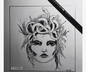 alternative, drawing, and tattoo image