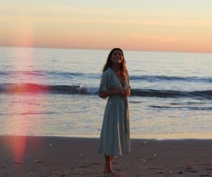 dress and sea image