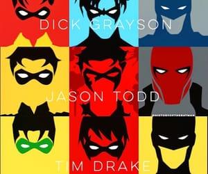 batman, tim drake, and jason todd image