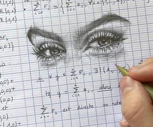 eyes, art, and math image