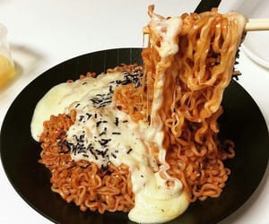 food, noodles, and yummy image