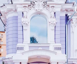 architecture, lilac, and moscow image