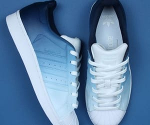 adidas, blue, and casual image