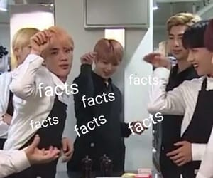 memes, facts, and bts image