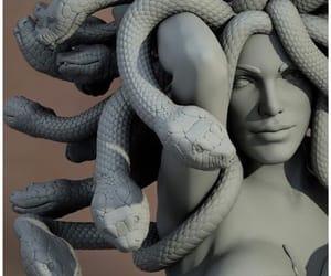 medusa and statue image