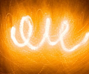 abstract photography, orange, and neon image
