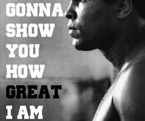 boxer, legend, and quote image