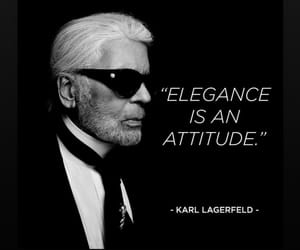 karl lagerfeld and atritude image