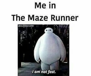 the maze runner, fast, and funny image
