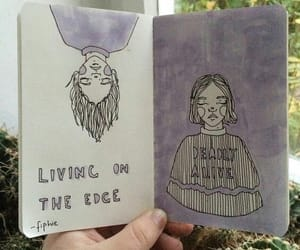 beautiful, drawing, and book image