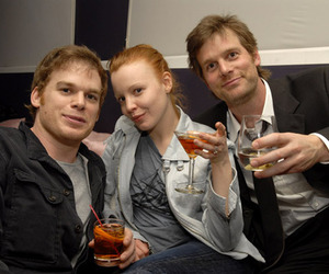 lauren ambrose, Michael C. Hall, and six feet under image
