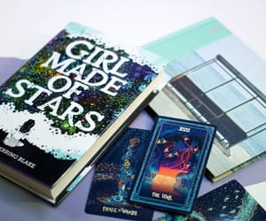 cards, reading, and stars image