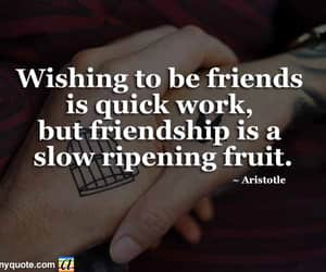 friendship, friendship quotes, and friends forever image
