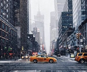 travel, new york, and winter image