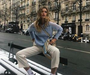 fashion, city, and girl image