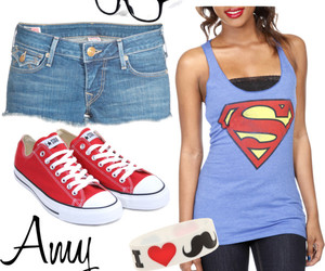bracelet, geek, and jeans image