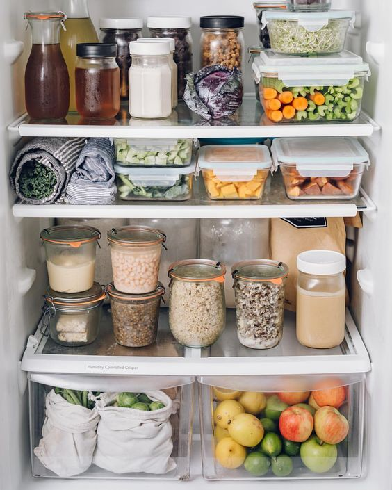 food, fridge, and healthy image