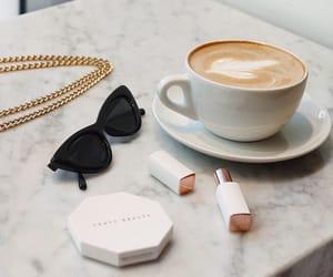 coffee, fashion, and glasses image