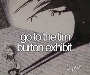 before i die and tim burton image
