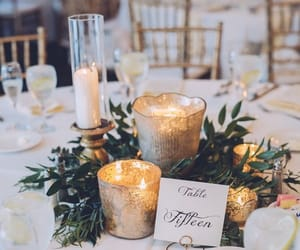 brunch, candle, and ceremony image