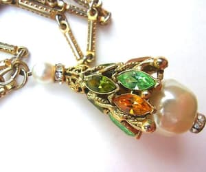 etsy, rare, and flapper necklace image