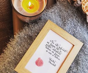 calligraphy, gift, and citate image