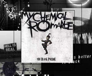 aesthetic, black, and emo image