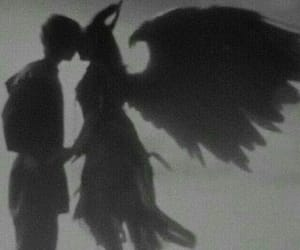 aesthetic, angel, and dark image