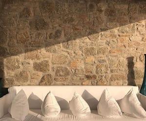 garden, sofa, and home image