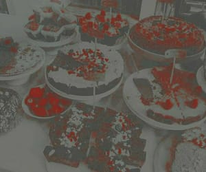 aesthetic, cake, and theme image