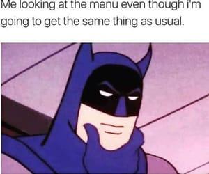funny, batman, and food image
