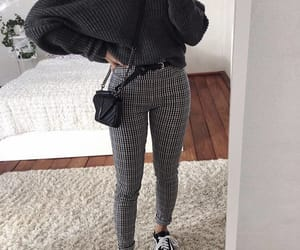 autumn, black, and fashion image