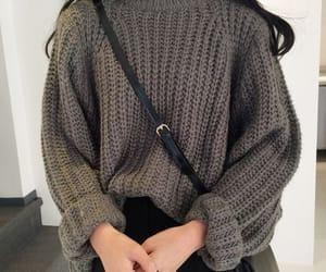 fashion, sweater, and kfashion image