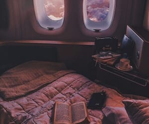 travel, book, and pink image
