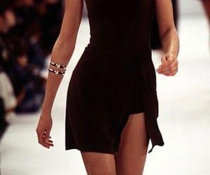 fashion, runway, and dress image