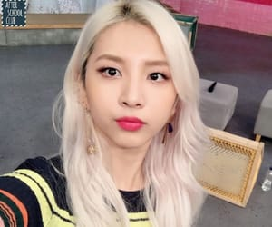 asian, blonde, and kard image