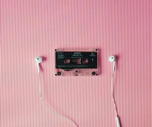 cassettes, earphones, and music image