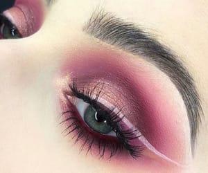 beauty, eyebrows, and eyeliner image