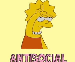 wallpaper, antisocial, and yellow image