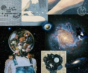 background, Collage, and galaxy image