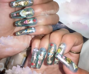 acrylic and nails image