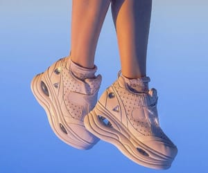 shoes, aesthetic, and blue image
