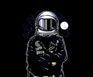 aesthetic, astronauta, and background image