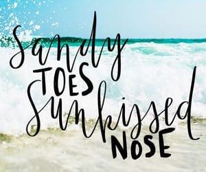 beach, sunlight, and love image
