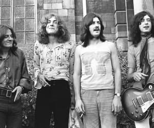 bands, jimmy page, and led zeppelin image