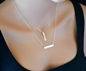 etsy, personalized, and necklace for women image